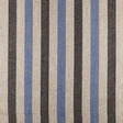 IL073 100% Linen fabric  - 840 BLUE THIN STRIPE