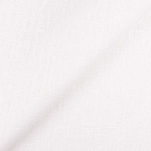 4C22 100% Linen fabric OPTIC WHITE -  Softened