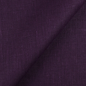 IL090   ROYAL PURPLE Softened - 100% Linen - Canvas (8 oz/yd<sup>2</sup>)
