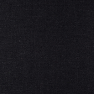 IS003 51% Linen / 49% Cotton fabric BLACK -  Softened