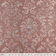 IS038 75% Linen / 25% Cotton fabric TITIAN RED - FLORENZIA