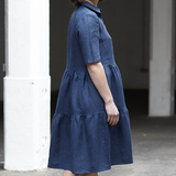 Avery — Avery Tiered Shirt Dress Pattern