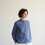 Genia — Genia Tailored Linen Shirt Pattern