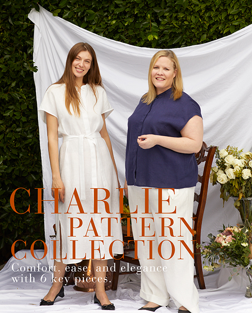 Charlie — Linen Blouses, Pant, Bermuda, Short and Dress