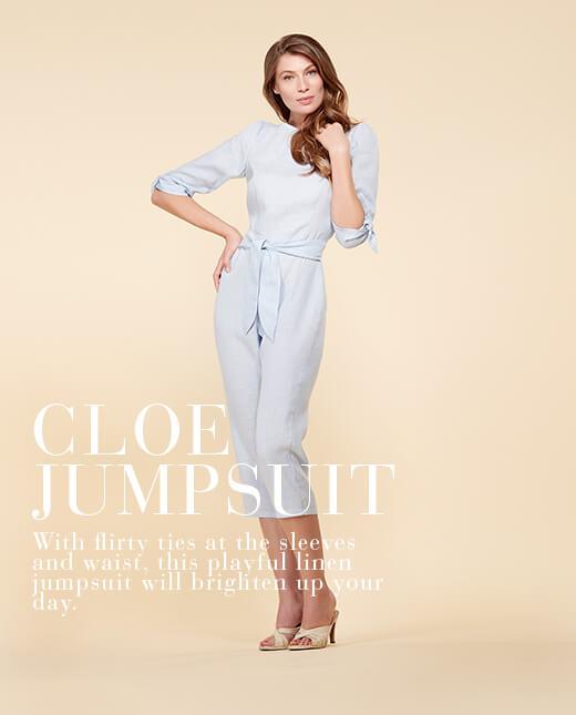 Cloe  — Linen Jumpsuit Pattern