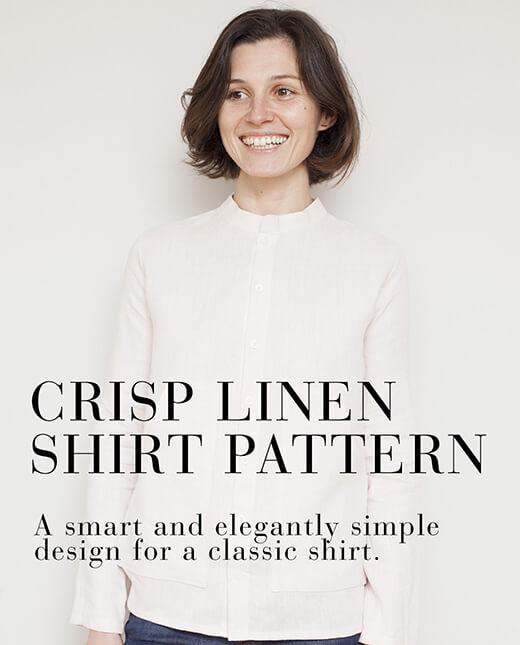 Ana  — Crisp Linen Shirt Pattern
