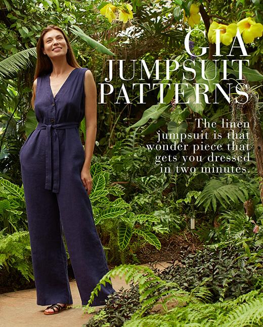 Gia — Linen Jumpsuits