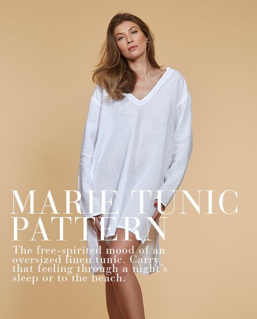 Marie  — Linen Tunic Pattern