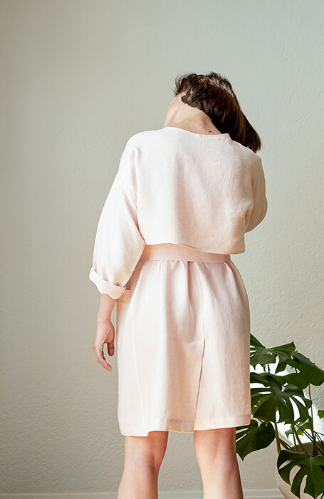 Linen Trench Pattern