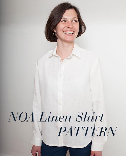 Noa — Noa Linen Shirt Pattern