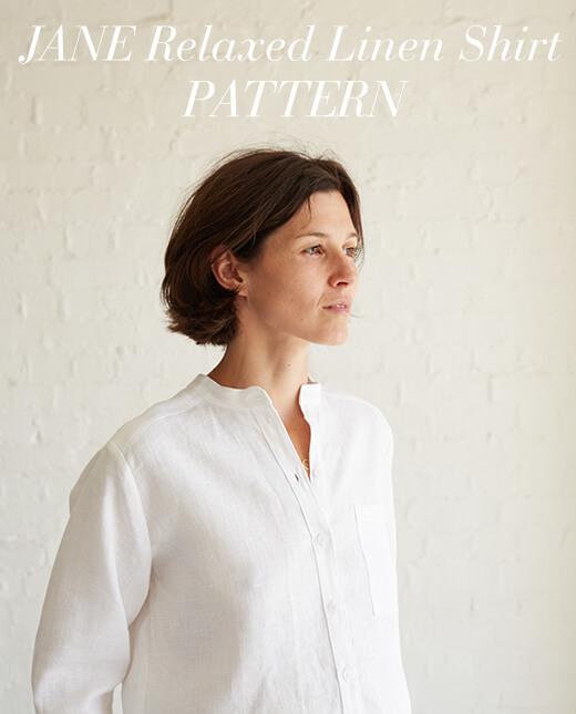 Jade — Jade Relaxed Linen Shirt Pattern