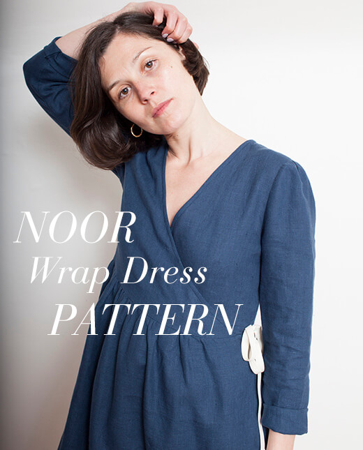 Noor — Noor Wrap Dress Pattern