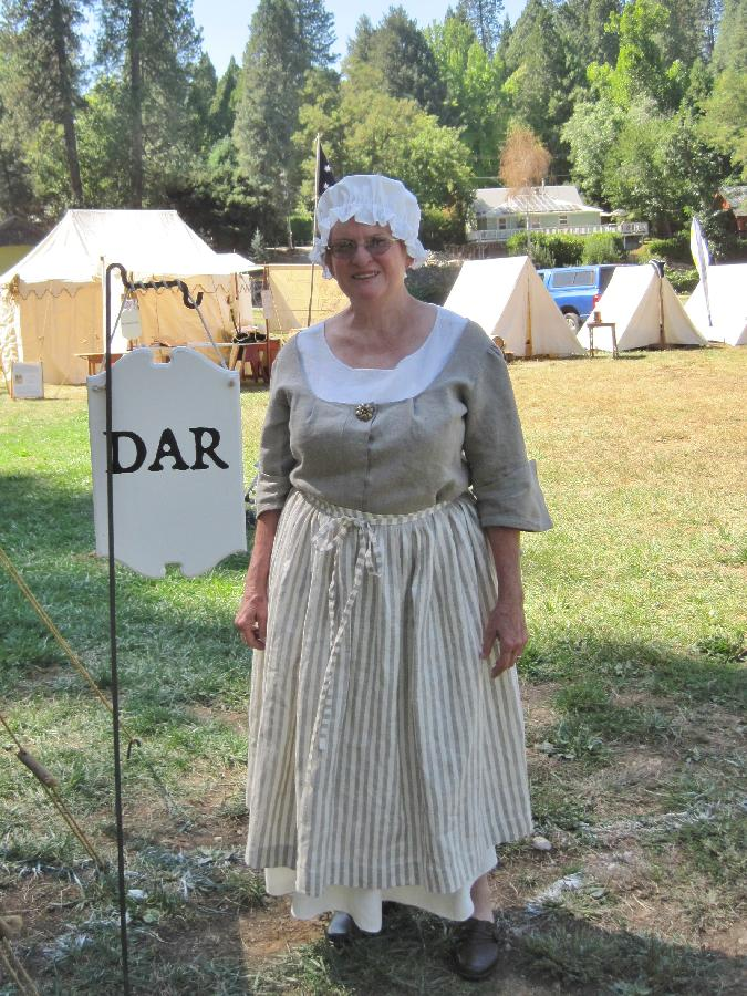 I participated in the Revolutionary War Reenactment in Grass Valley, California. This handmade, ...