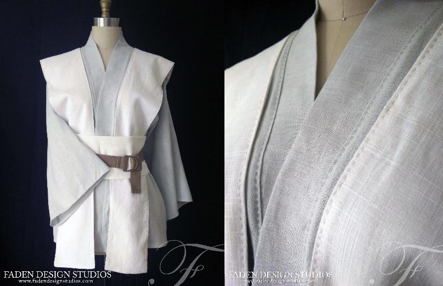 Jedi Robes~  mid-weight linen with hand stitching details....