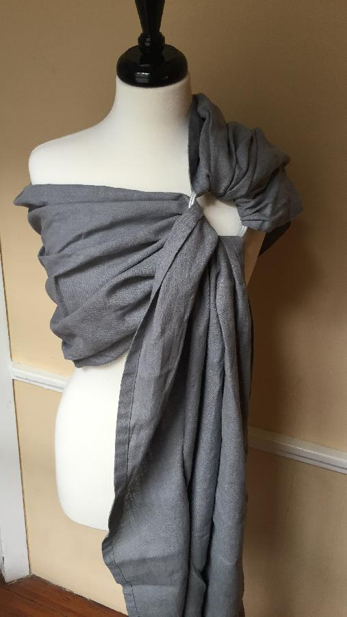 IL019 Asphalt is the perfect gray for my top selling ring sling! (From Alabama With Love)  www.f...