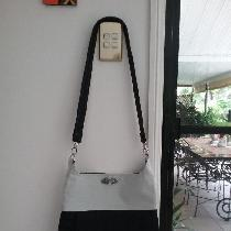 Linen tote bag...mid weight fully lined....