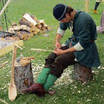 Here is a man's tunic in the style of tunics from early 900's Viking Age Norway.  I used 4C22 in...