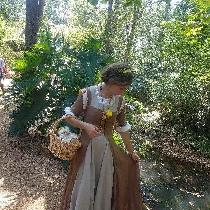 I made a 100% linen underdress and over dress for the Renaissance Festival this year. It took me...