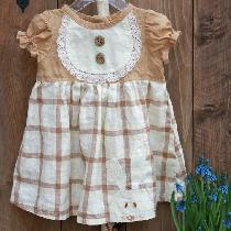some Bunny for girls as well - on a dress in earthy colors...