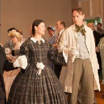 Tim dancing the Grand March in his: