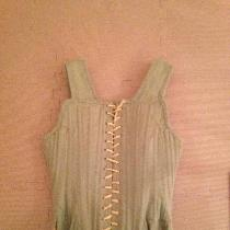 An 18th century corset, made and lined in medium weight linen. ...