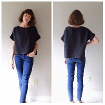 The tee made in heavy weight black (and more!) available at www.etsy.com/shop/shieldsdesignhouse...
