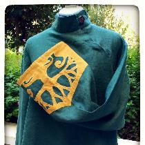 Elven Tunic in Evergreen....