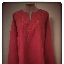 Tunic in Biking Red...
