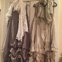 Part of my Bourgeois (bobo) chic collection. These dresses (short over long) are a combination  ...