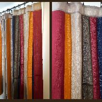 Linen curtains in a variety of shades of IL019. The curtains are entirely french seamed for dura...