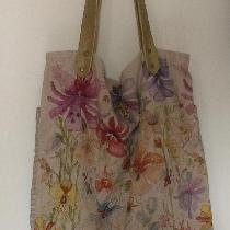 I transformed one pillowcase in a linen bag, that I love....