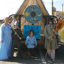 My family and I are involved in our local branch of Vikings - Vinland. We are a recreationist gr...
