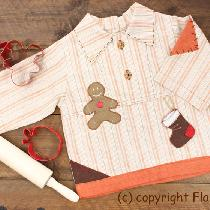 how about Christmas Gingerbread Man for little man.... I designed this shirt couple years ago wh...