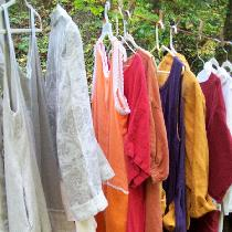 My fall collection of beautiful things made with various weights and colors of wonderful linen....