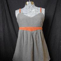 Tunic and Skirt made of 100% fabrics-store's linen...