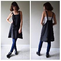 Artist smock made w blk medium weight. www.etsy.com/shop/shieldsdesignhouse...