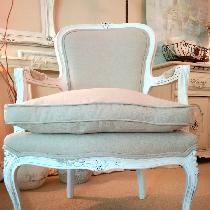 One of my most cherished works using Fabrics-Store.com lovely linen....