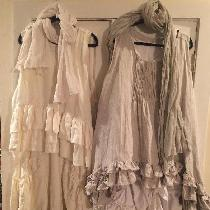 Part of my Bourgeois (bobo) chic collection.  These dresses (short over long) are a combo of 4c2...
