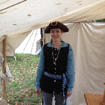 One of my 18th Century rendezvous outfits. I made it almost entirely out of Fabric-store linen....